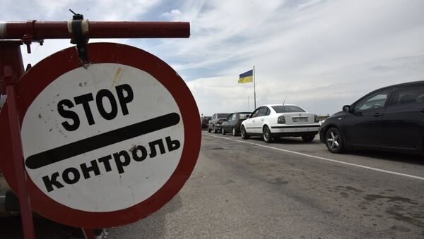 La frontera entre Rusia y Ucrania - Sputnik Mundo