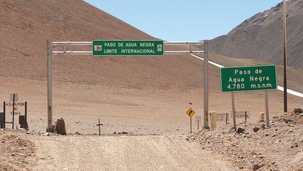 Paso de Agua Negra, donde se construirá el túnel más largo de América Latina - Sputnik Mundo