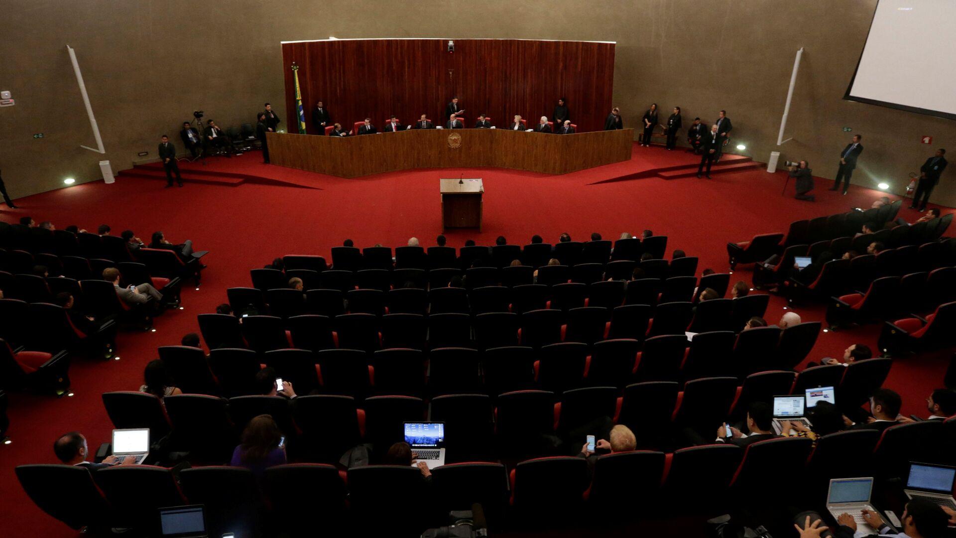 Tribunal Superior Electoral de Brasil  - Sputnik Mundo, 1920, 02.08.2021