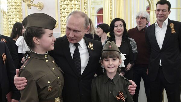 Una recepción solemne en el Kremlin - Sputnik Mundo