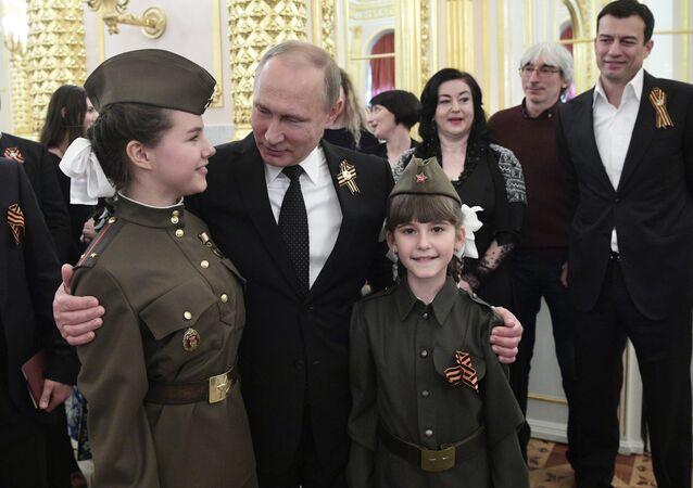 Una recepción solemne en el Kremlin