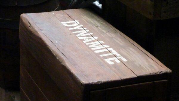 Dinamita (imagen referencial) - Sputnik Mundo