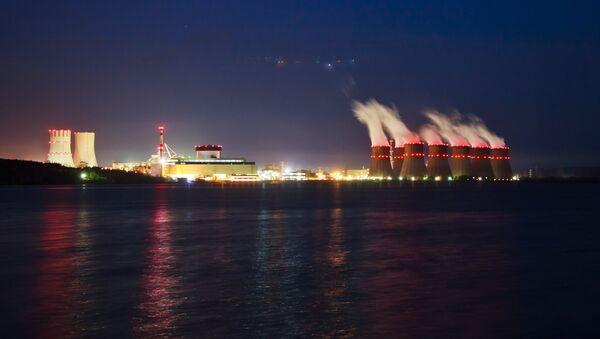 La central nuclear Novovoronezh, que alberga el reactor más moderno de Rusia - Sputnik Mundo
