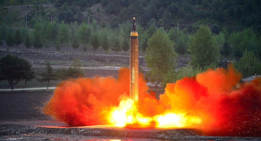 Lanzamiento de misiles balísticos, Corea del Norte