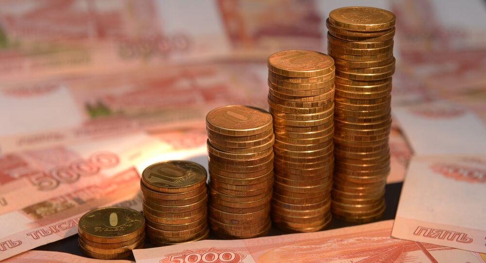 Rublos, monedas de Rusia