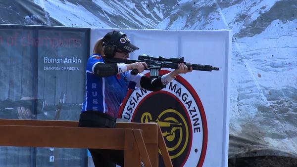 Equipo ruso durante el Campeonato Mundial de Tiro Práctico con Rifle - Sputnik Mundo