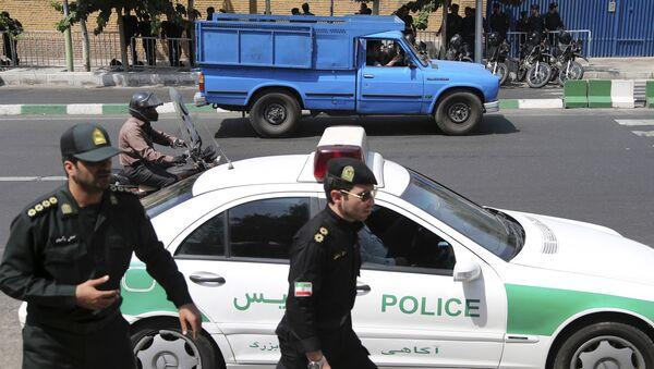 Policía iraní - Sputnik Mundo