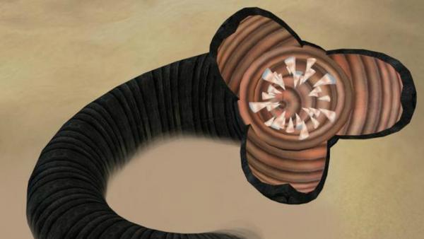 Un gusano de arena, del Universo de Dune de Frank Herbert - Sputnik Mundo