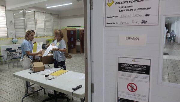 Plebiscito por el estatus político de Puerto Rico - Sputnik Mundo