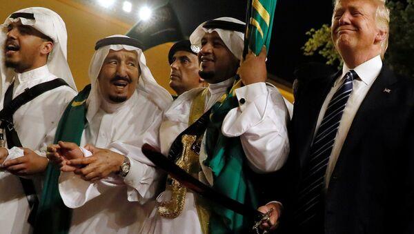 Donald Trump en el marco de su visita a Arabia Saudí - Sputnik Mundo