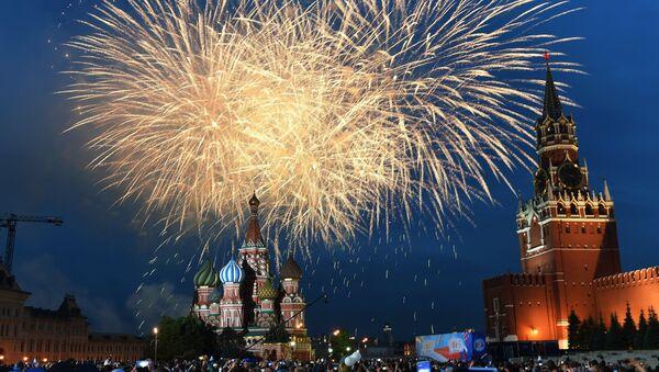 ¡Gloria a la patria! ¡Estamos orgullosos de ti!: así se celebró el Día de Rusia - Sputnik Mundo