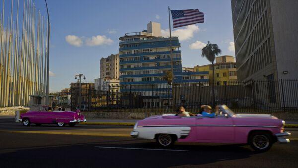 Embajada de EEUU en la Habana, Cuba - Sputnik Mundo