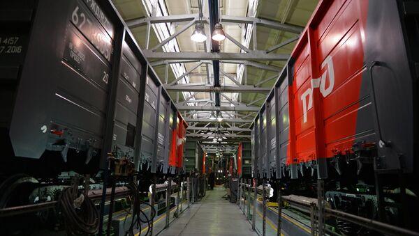 Construcción de vagones en la planta Uralvagonzavod - Sputnik Mundo