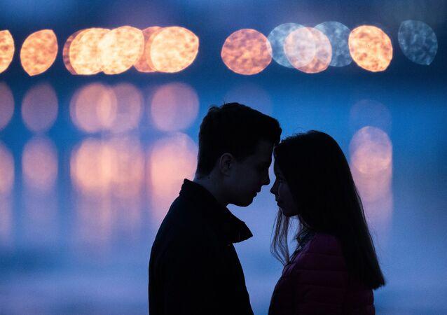 Una pareja (imagen referencial)