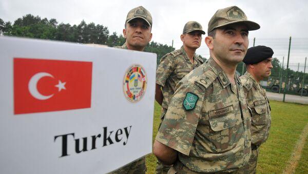 Ejército turco - Sputnik Mundo
