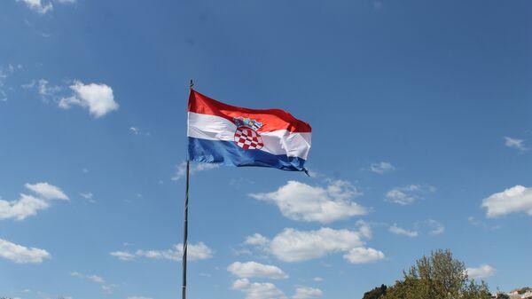 Bandera de Croacia  - Sputnik Mundo