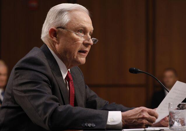 Jeff Sessions, fiscal general de EEUU (archivo)