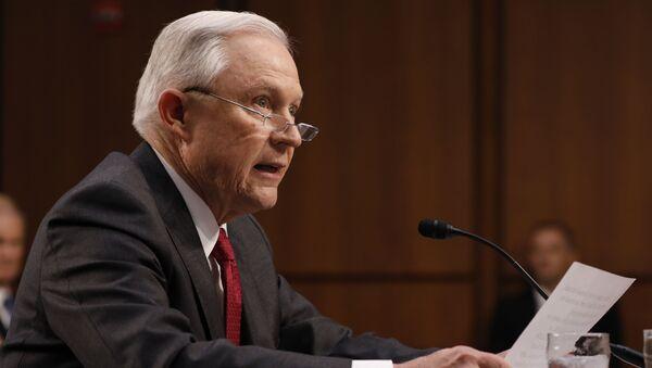 Jeff Sessions, fiscal general de EEUU (archivo) - Sputnik Mundo