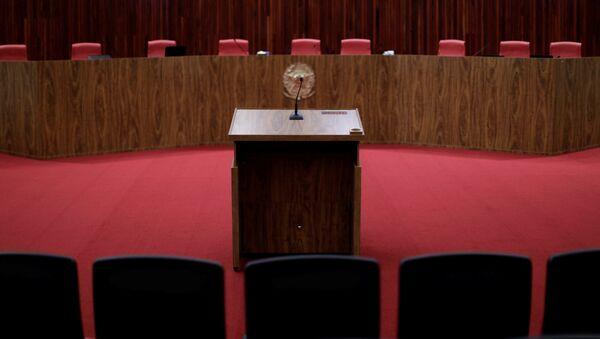 El Tribunal Superior Electoral (TSE) de Brasil - Sputnik Mundo