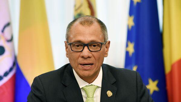 Jorge Glas, ex vicepresidente de Ecuador (archivo) - Sputnik Mundo