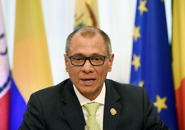 Jorge Glas, vicepresidente de Ecuador