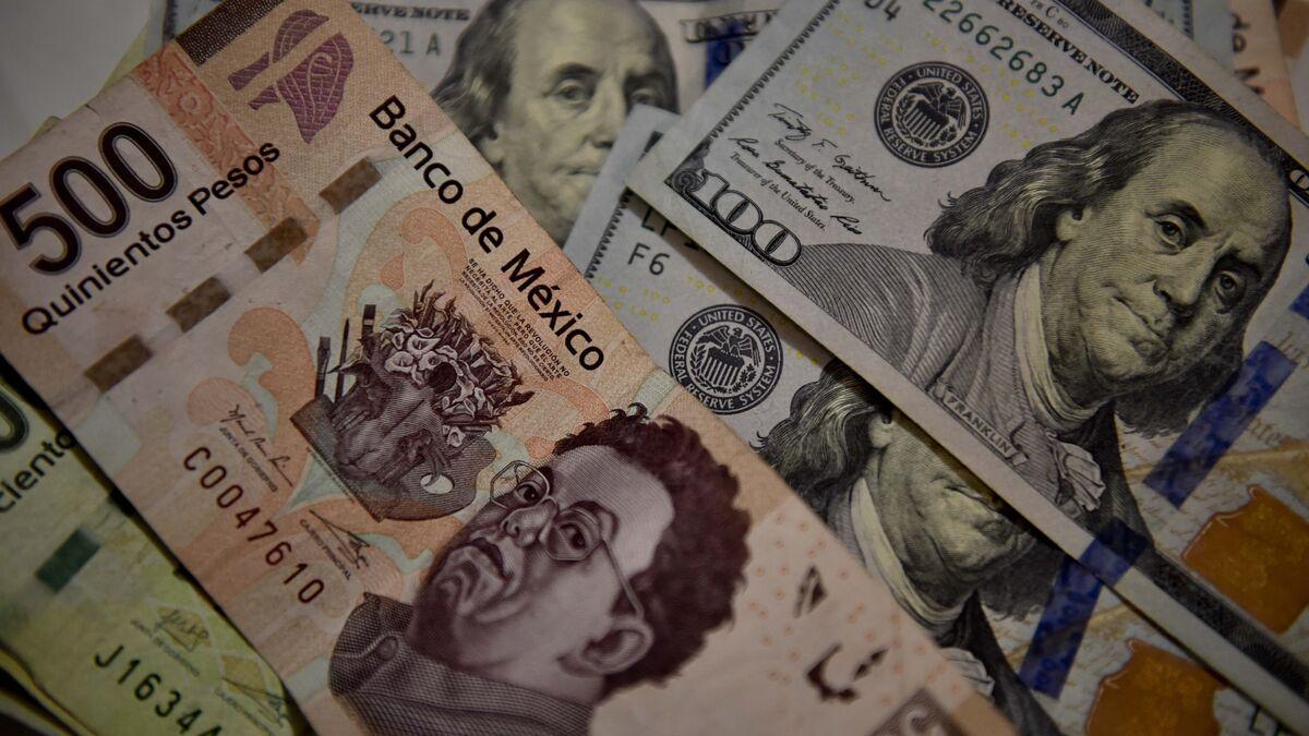Peso Mexicano Alcanza Su Mejor