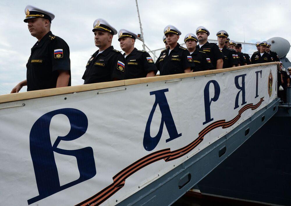 Bienvenidos a casa: los buques de la Flota del Pacífico regresan a Vladivostok