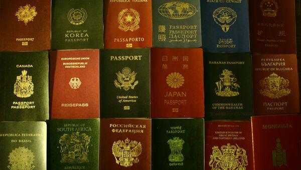 Pasaportes (imagen referencial) - Sputnik Mundo