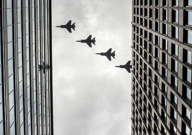 Los cazas MiG-31