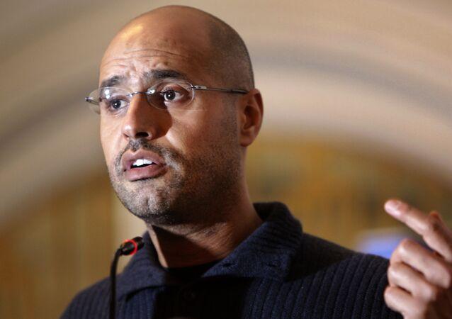 Seif Islam Gadafi, hijo de Muamar Gadafi