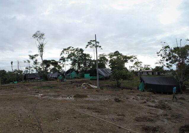 Campamento del Bloque Sur - Zona Veredal Heiler Mosquera