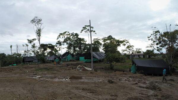 Campamento del Bloque Sur - Zona Veredal Heiler Mosquera - Sputnik Mundo