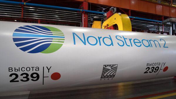 Una tubería para Nord Stream 2 - Sputnik Mundo