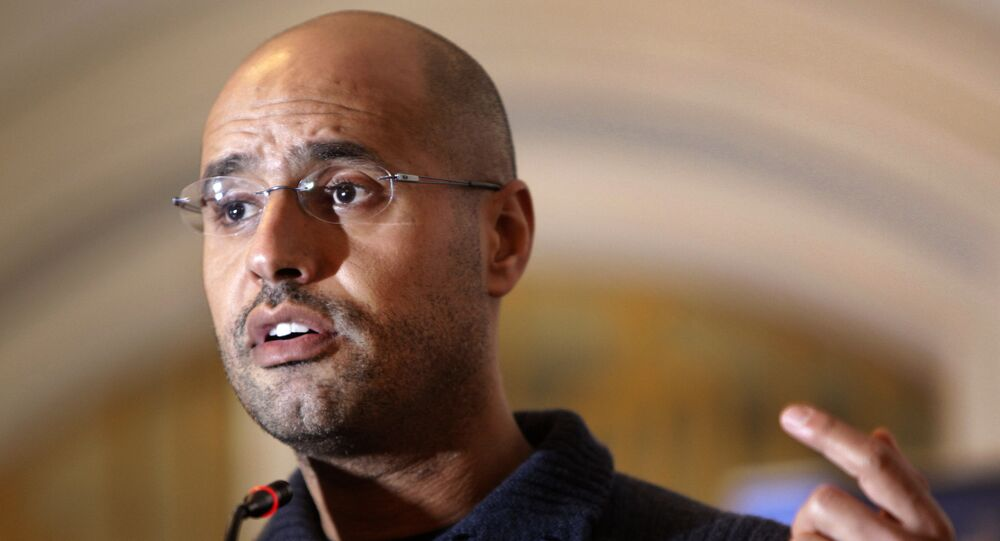 Saif al-Islam Gadafi, hijo del exlíder libio Muamar Gadafi