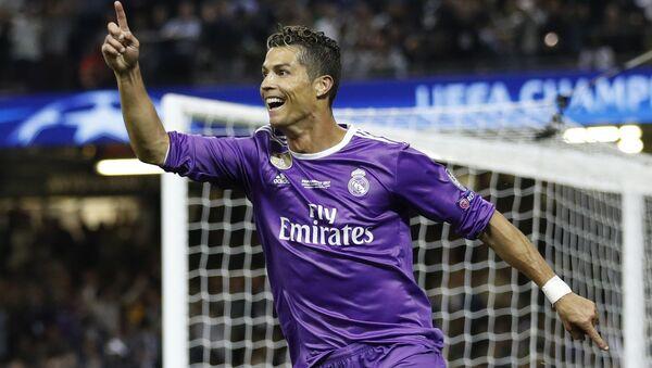 Cristiano Ronaldo del Real Madrid en la final de la Champions League - Sputnik Mundo