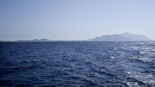 Isla de Tirán en el mar Rojo - Sputnik Mundo