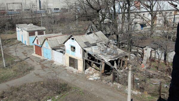 Situación en Donbás (archivo) - Sputnik Mundo