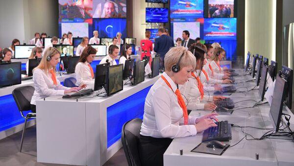 Línea directa con Vladímir Putin (archivo) - Sputnik Mundo