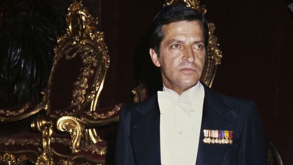 Adolfo Suárez, ganador de las primeras elecciones democráticas españolas (archivo) - Sputnik Mundo