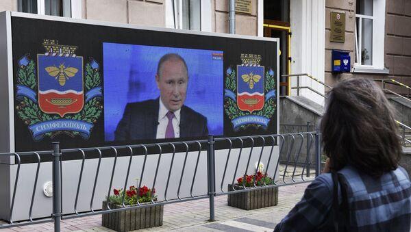 La 15ª 'Línea directa' con Vladímir Putin - Sputnik Mundo