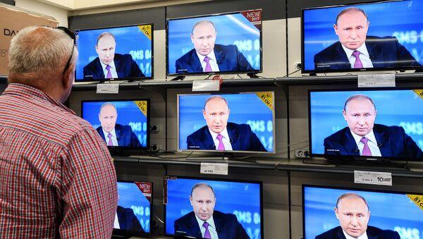 'Línea directa' con Vladímir Putin - Sputnik Mundo