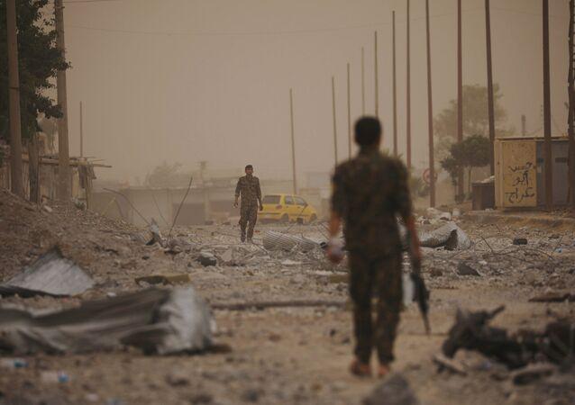 Situación en Siria (imagen referencial)