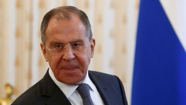 Serguéi Lavrov, ministro de Exteriores de Rusia (archivo) - Sputnik Mundo