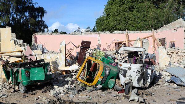 Lugar del atentado en Mogadiscio, Somalia (archivo) - Sputnik Mundo