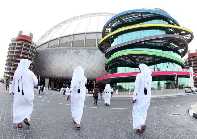 Khalifa International Stadium en Doha, Catar