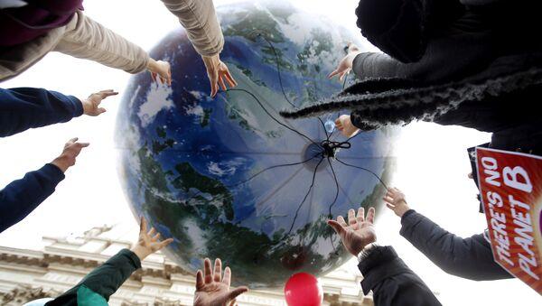 Globo en forma de la Tierra - Sputnik Mundo