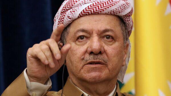 Masud Barzani, presidente del Kurdistán iraquí (archivo) - Sputnik Mundo