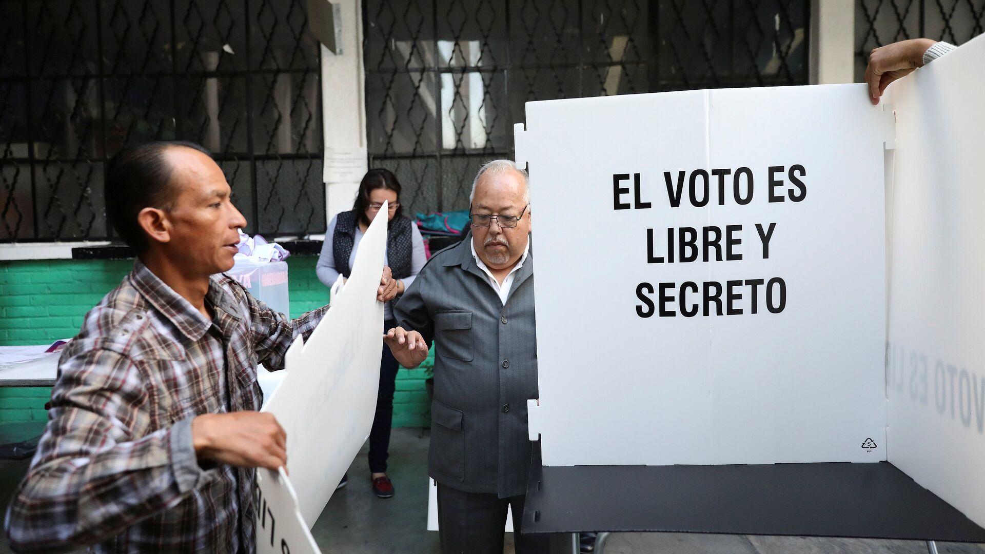 La preparación para las elecciones en México (archivo) - Sputnik Mundo, 1920, 04.06.2021
