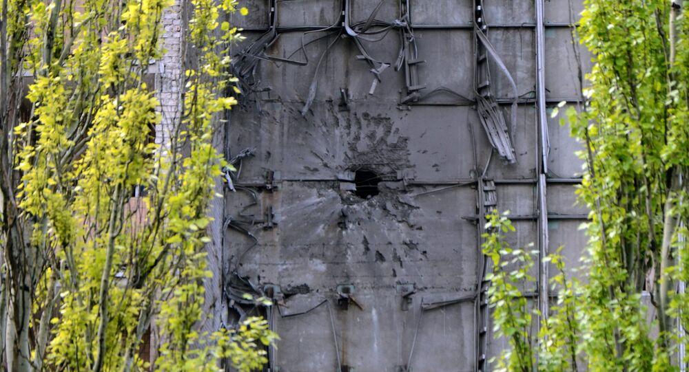 La situación en Donetsk, Ucrania