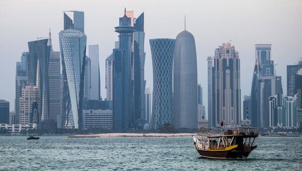 Doha, la capital de Catar - Sputnik Mundo